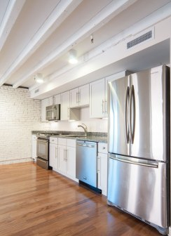 Granite Counters and Stainless Steel Appliances