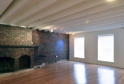 Fireplace and Wood Floors
